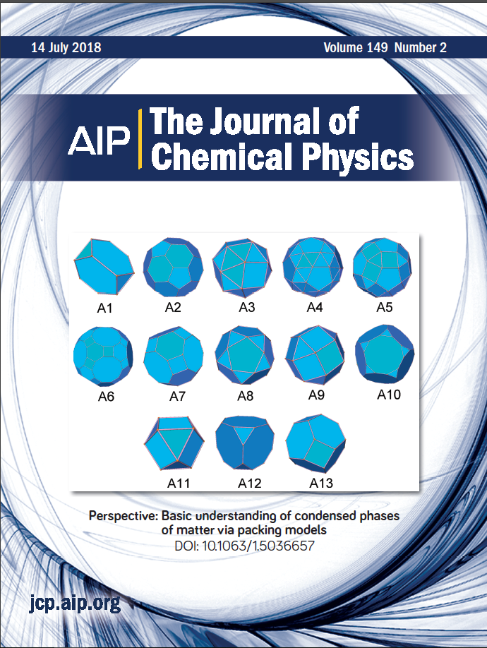 """""""Perspective: Basic Understanding of Condensed Phases of Matter via Packing Models"""" is published in The Journal of Chemical Physics"""